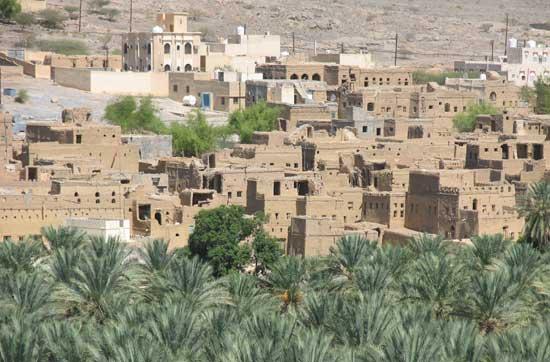 Al-Hamra - die Rote: Lehmziegelstadt