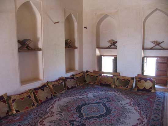 Al Jabreen: Restaurierte Festung (Bibliothek)