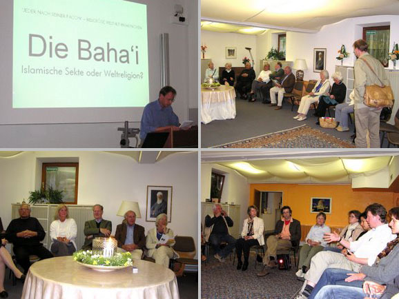Besuch in der Bahai-Gemeinde