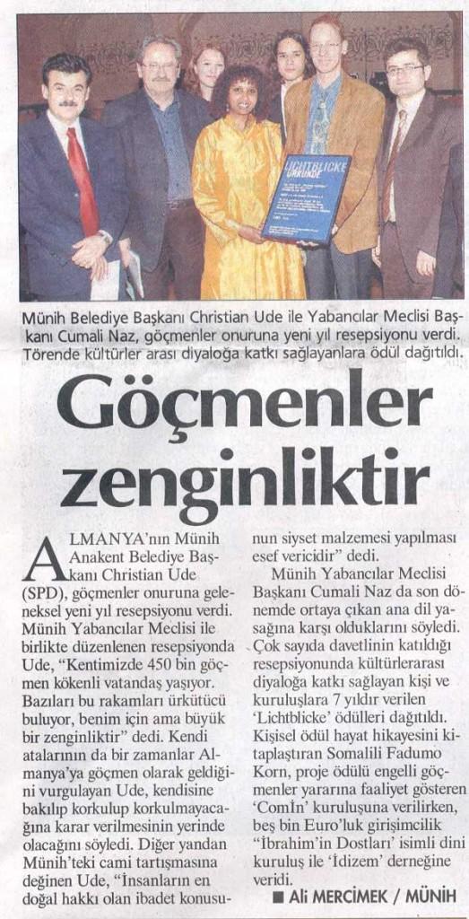 Presseecho Hürriyet