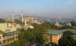 Blick vom Hotel: Hagia Sophia