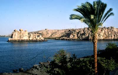 Der Nil bei Elephantine/Assuan
