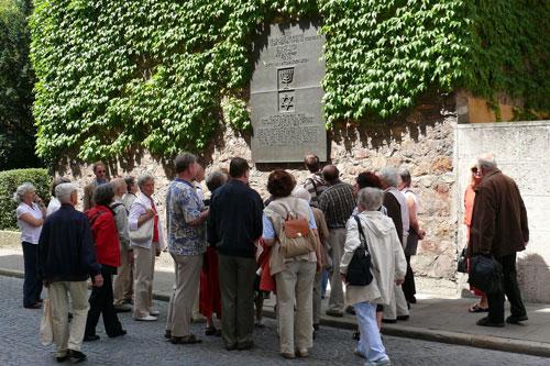 Ostwand der Synagoge