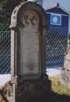 Grabstein eines Priesterabkömmlings
