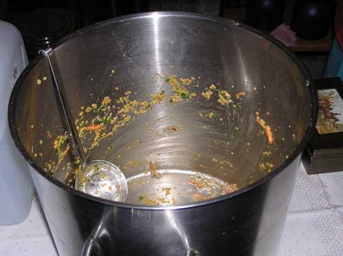 Abrahams Kochtopf ist leer