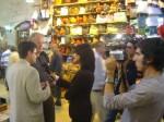 Gespräch mit TV-Journalisten