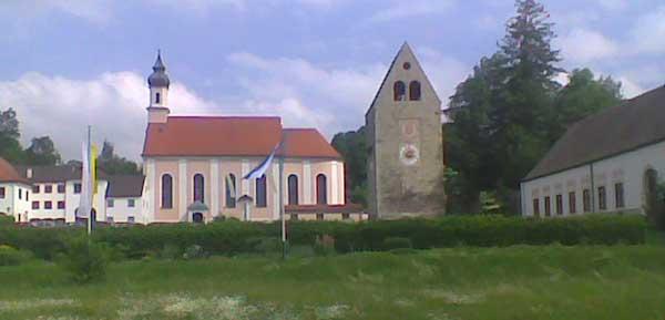 Kloster Wessobrunn - Hof