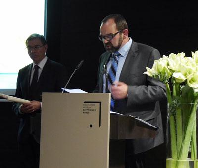 Dr. G. Gafus und Prof. S. Leimgruber