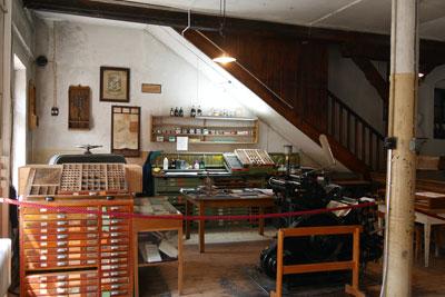 historische Druckerei Seidel