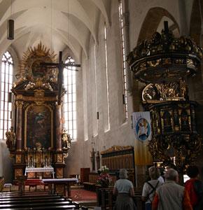 Die katholische Kirche Sulzbach