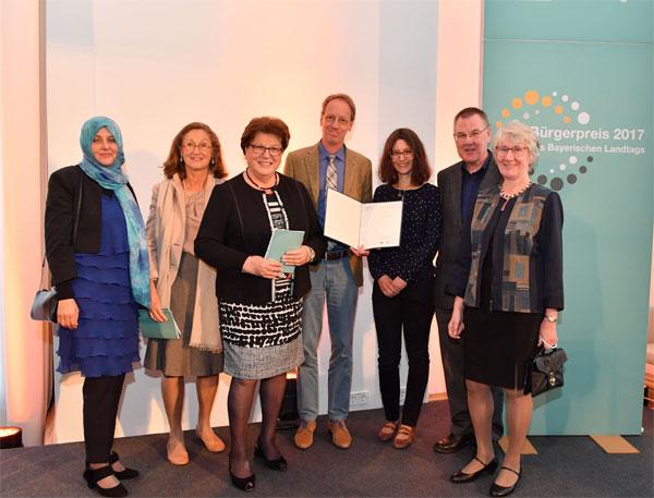 Preisverleihung Bürgerpreis 2017 - Vorstand