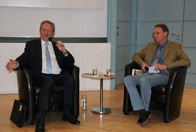 10Jahre NyG: Alt-OB Ude und Prof. S. J. Wimmer