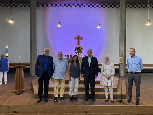 Abrahamisches Friedensgebet 2020, Mitwirkende