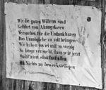 Spruch Allach Tipi Platz; Klaus D. Wolf