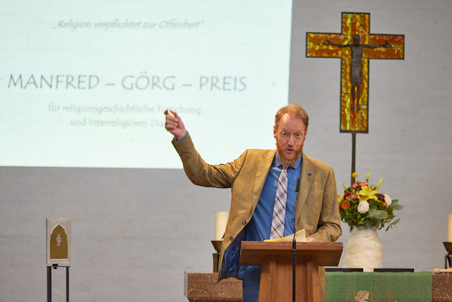 Stefan J. Wimmer eröffnet die dritte Manfred-Görg-Preisverleihung